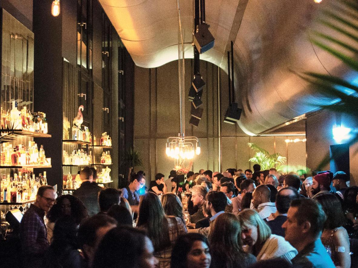 """Amandine: This swanky hotel's motto of """"affordable luxury"""" is reflected in the Amano Grand Central bar's diverse drinks menu and relaxed atmosphere."""