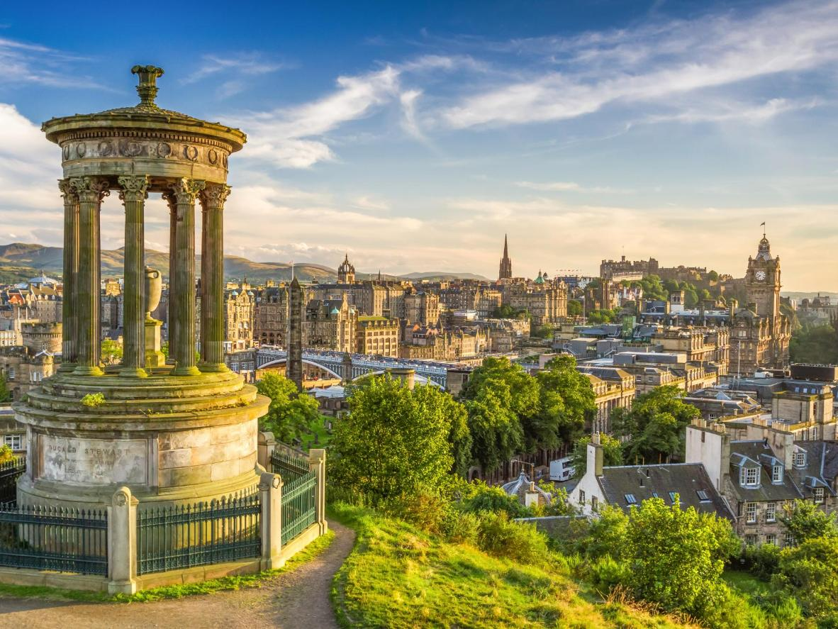 Pint-sized Edinburgh packs in a wealth of sights