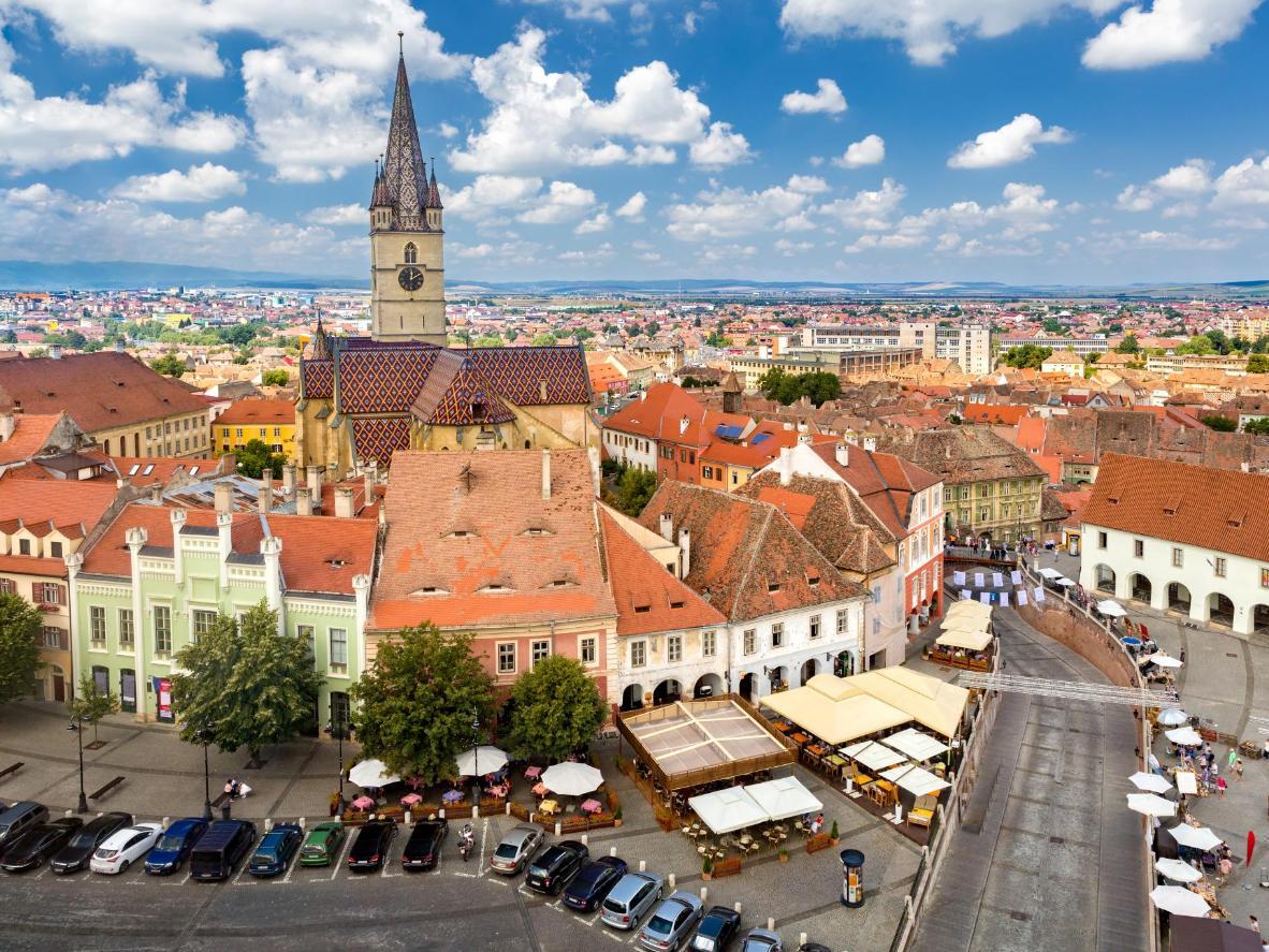 Get on stage in Sibiu, Romania