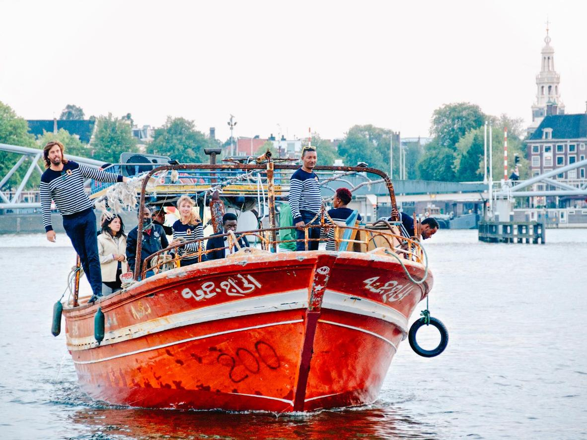 Lampedusa Cruises tell the story of Amsterdam as a city of migration