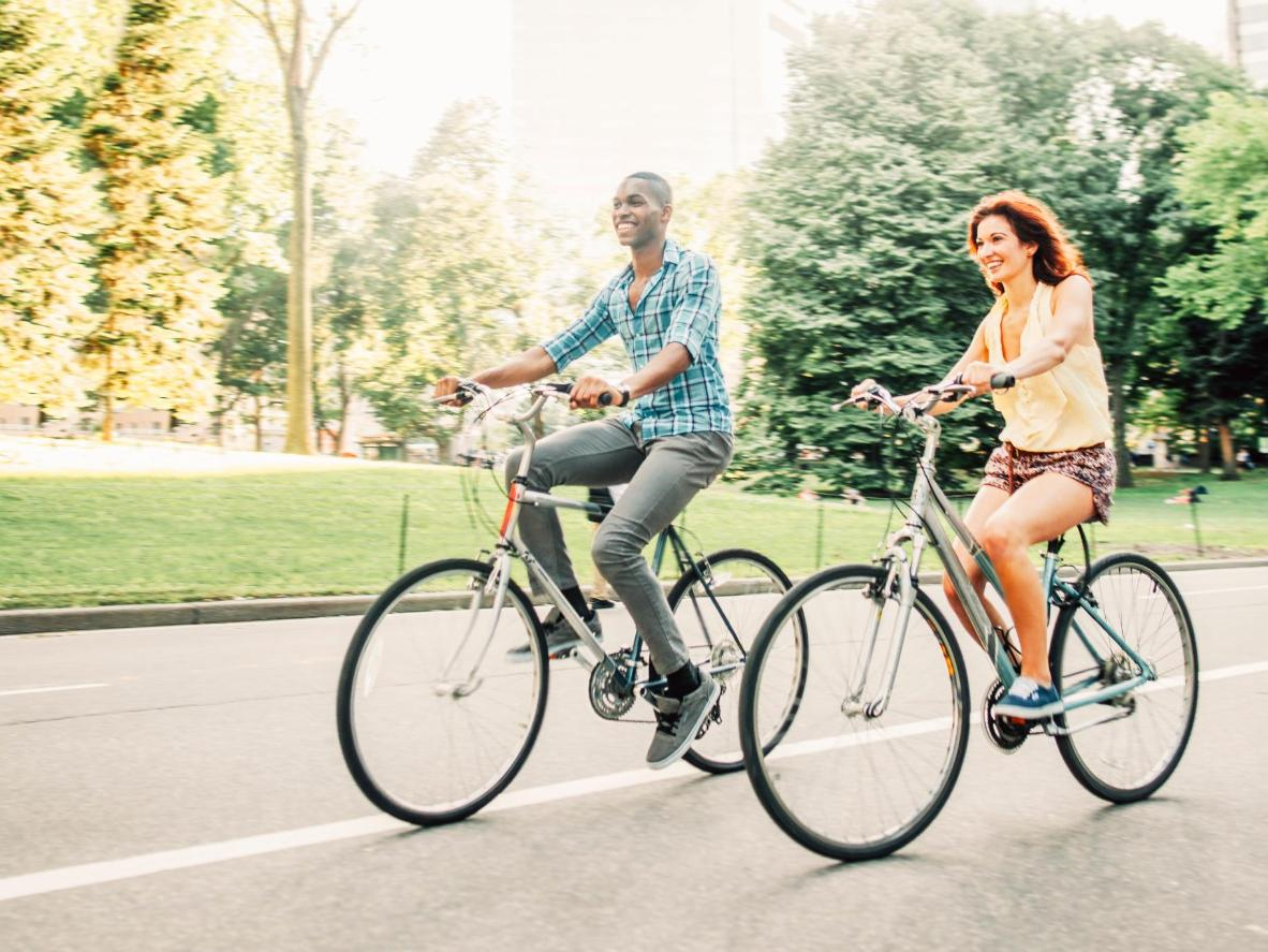 Chill out and bike through the city this summer