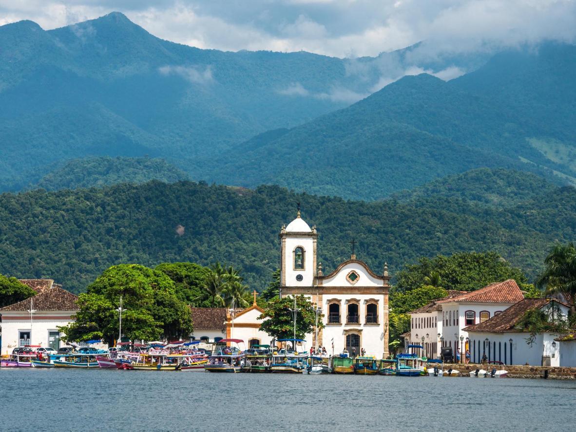 Boat trips take you around Brazil's tropical Costa Verde
