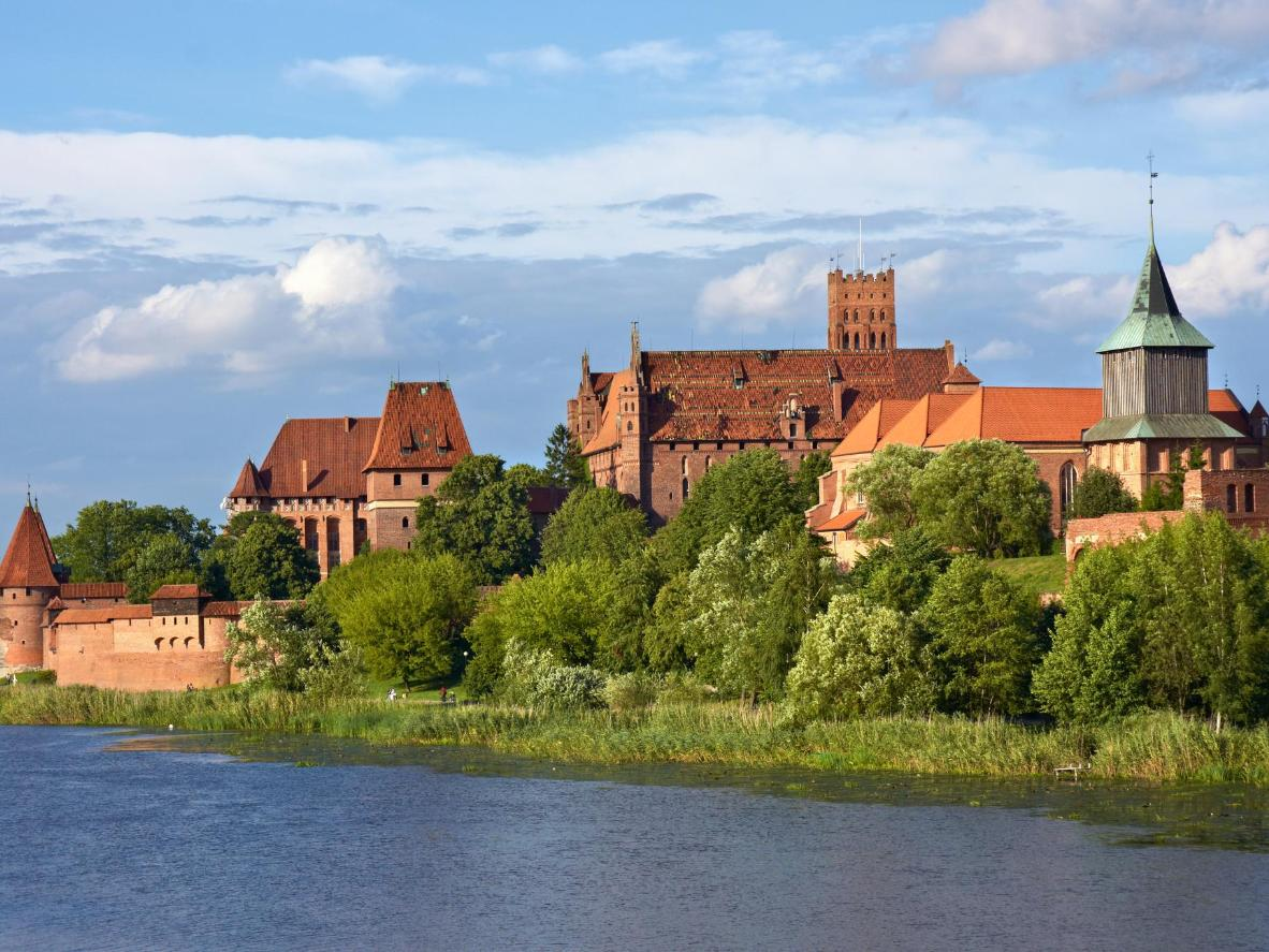 Malbork's Castle was once home to the Teutonic Knights