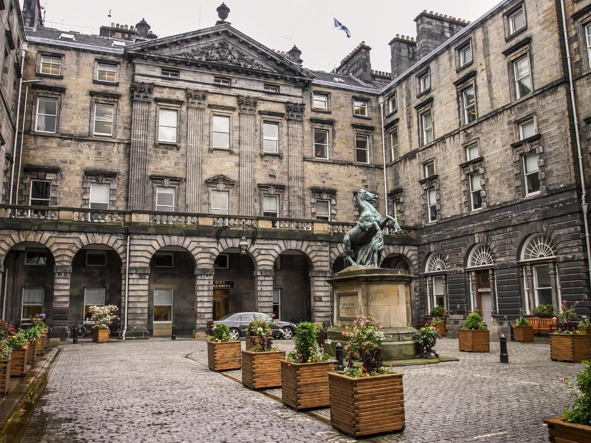 Go in search of JK at Edinburgh City Chambers