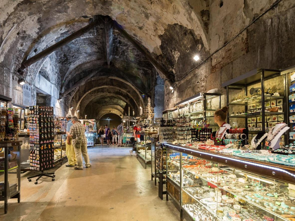 Visit Split's historic market