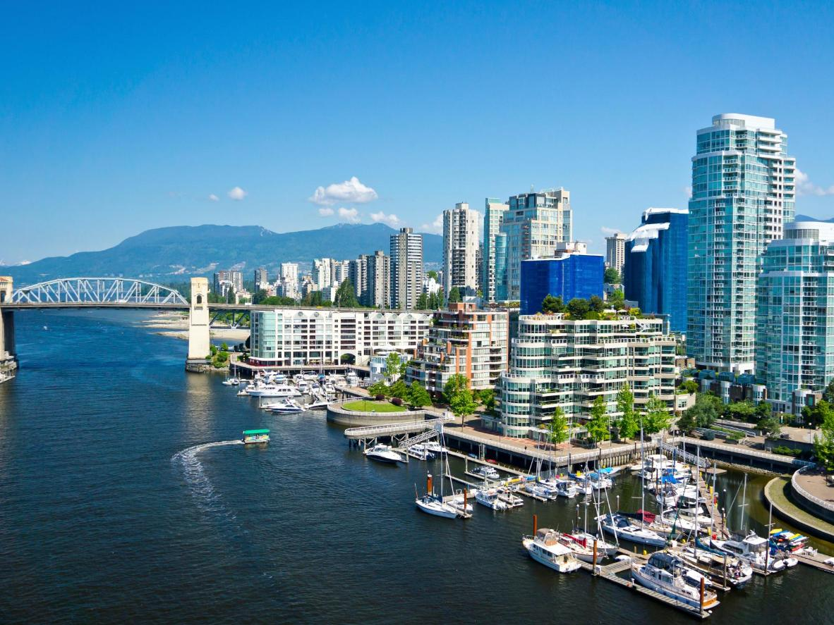 The weekend's events take place along the city's waterfront at Canada Place