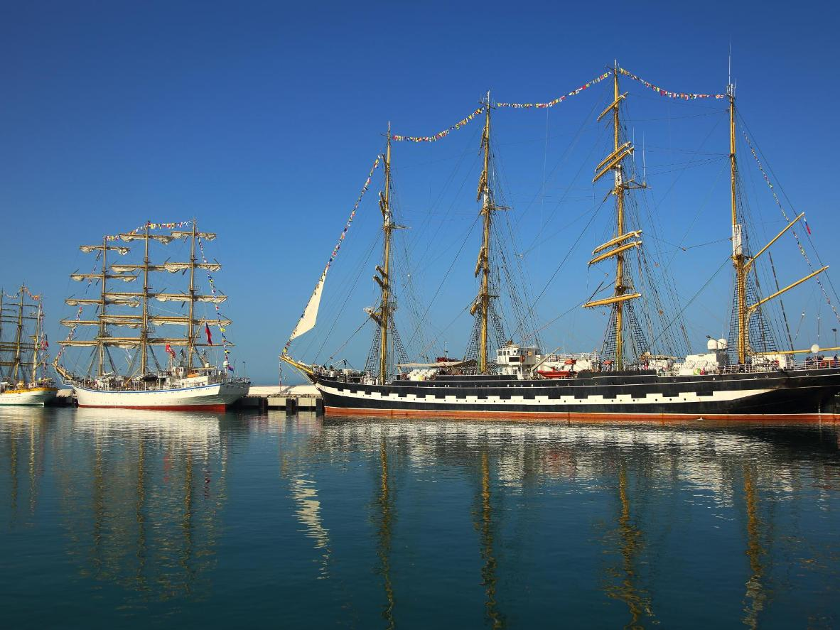 Don't miss the tall ships that will be docked in the Charlottetown Harbour this weekend