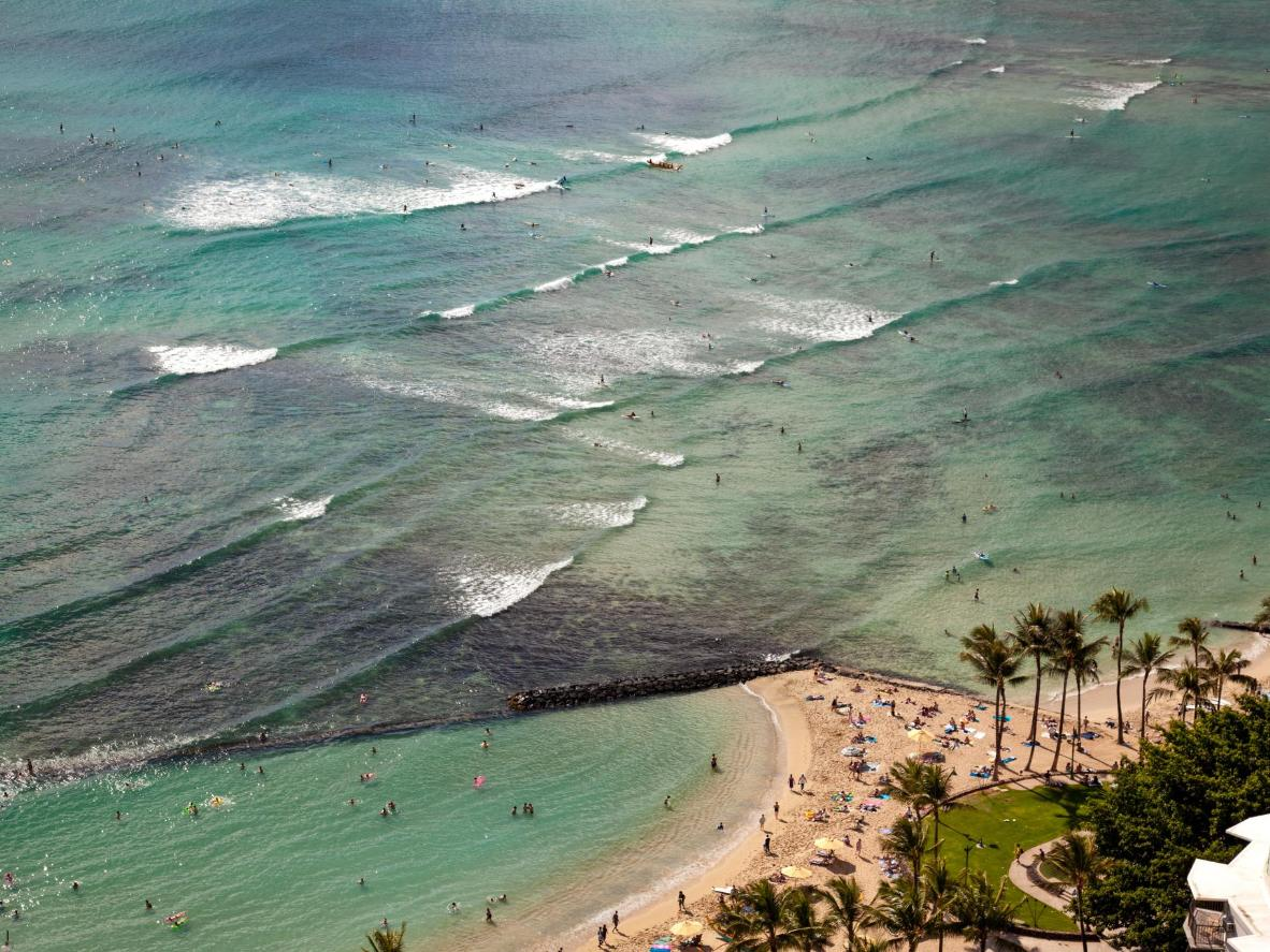 Pacific Beach, Waikiki, Hawaii