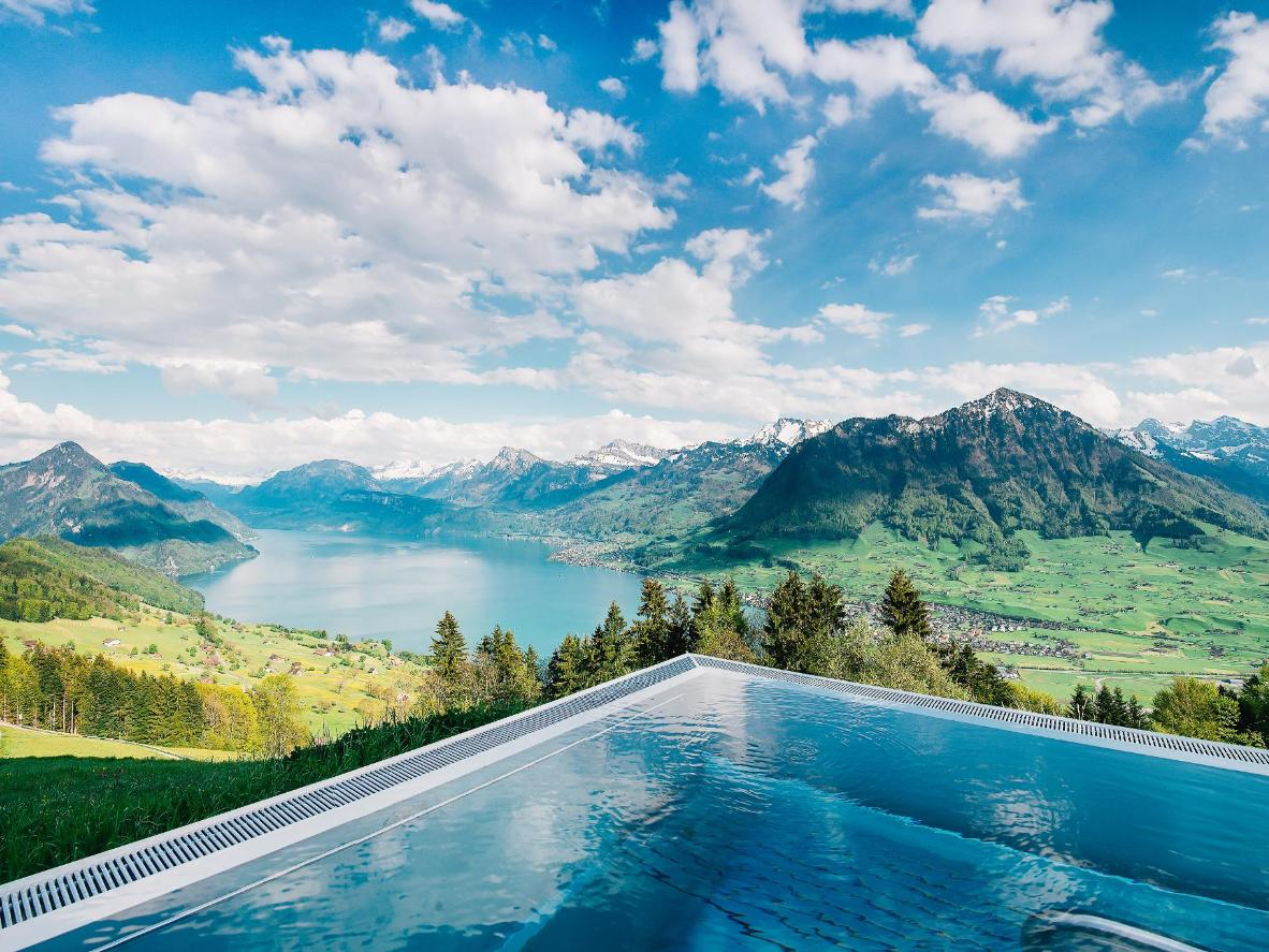 Switzerland hotel infinity pool 2018 world 39 s best hotels - Infinity pool europe ...