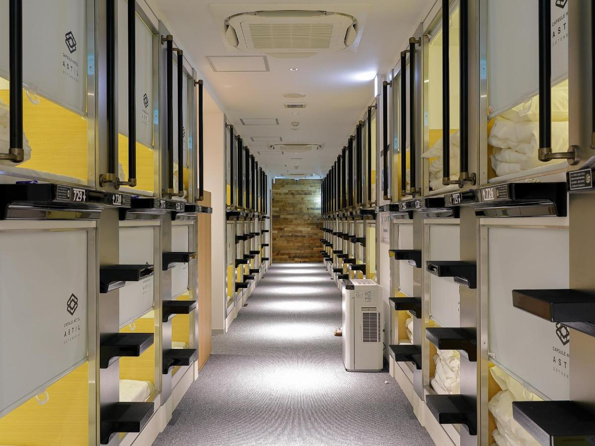 The World S Top 10 Capsule Hotels Booking Com