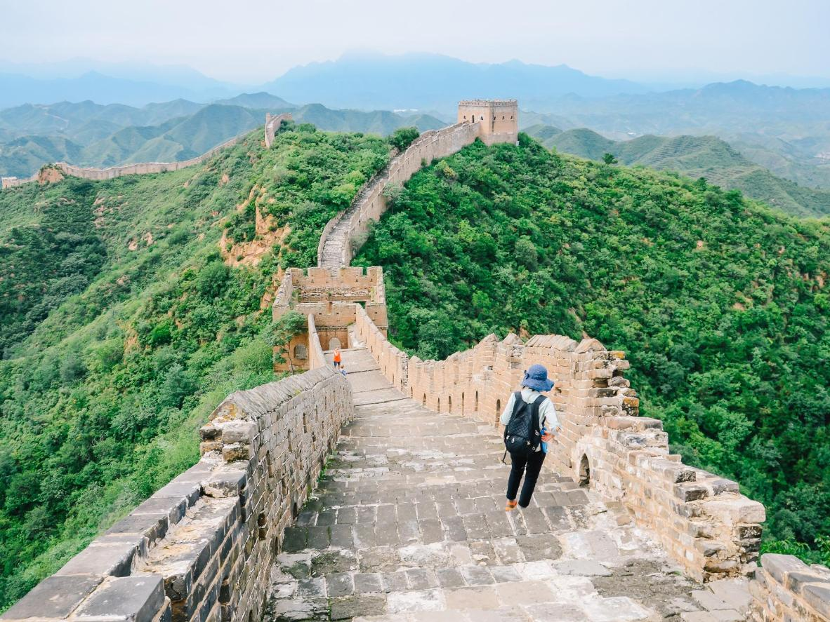 Walking the Great Wall of China is one for the bucket list