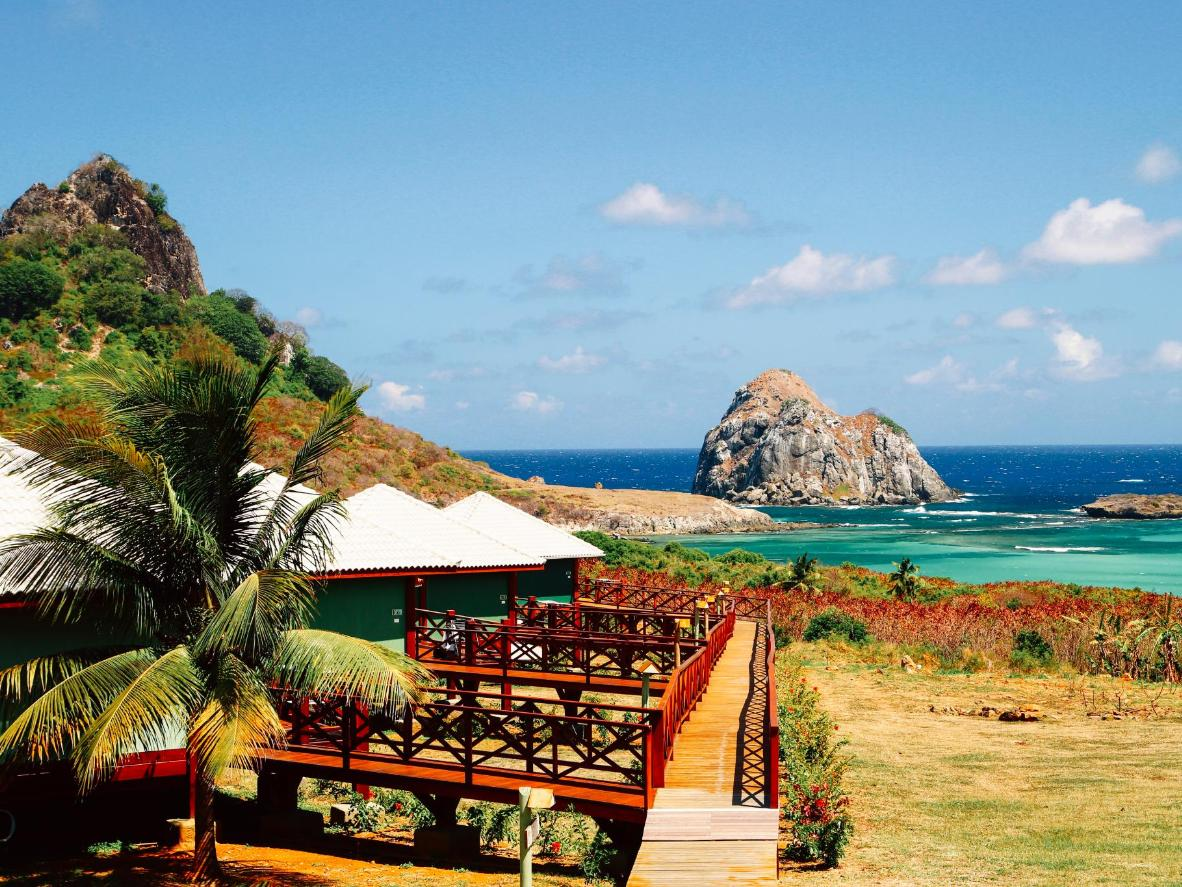 Pousada Solar Dos Ventos is famous for its panoramic sea views