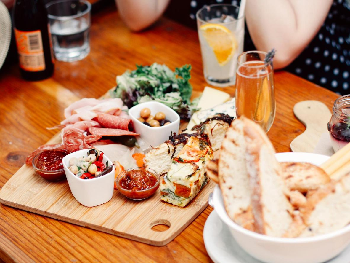 Antipasto in Melbourne's Little Italy