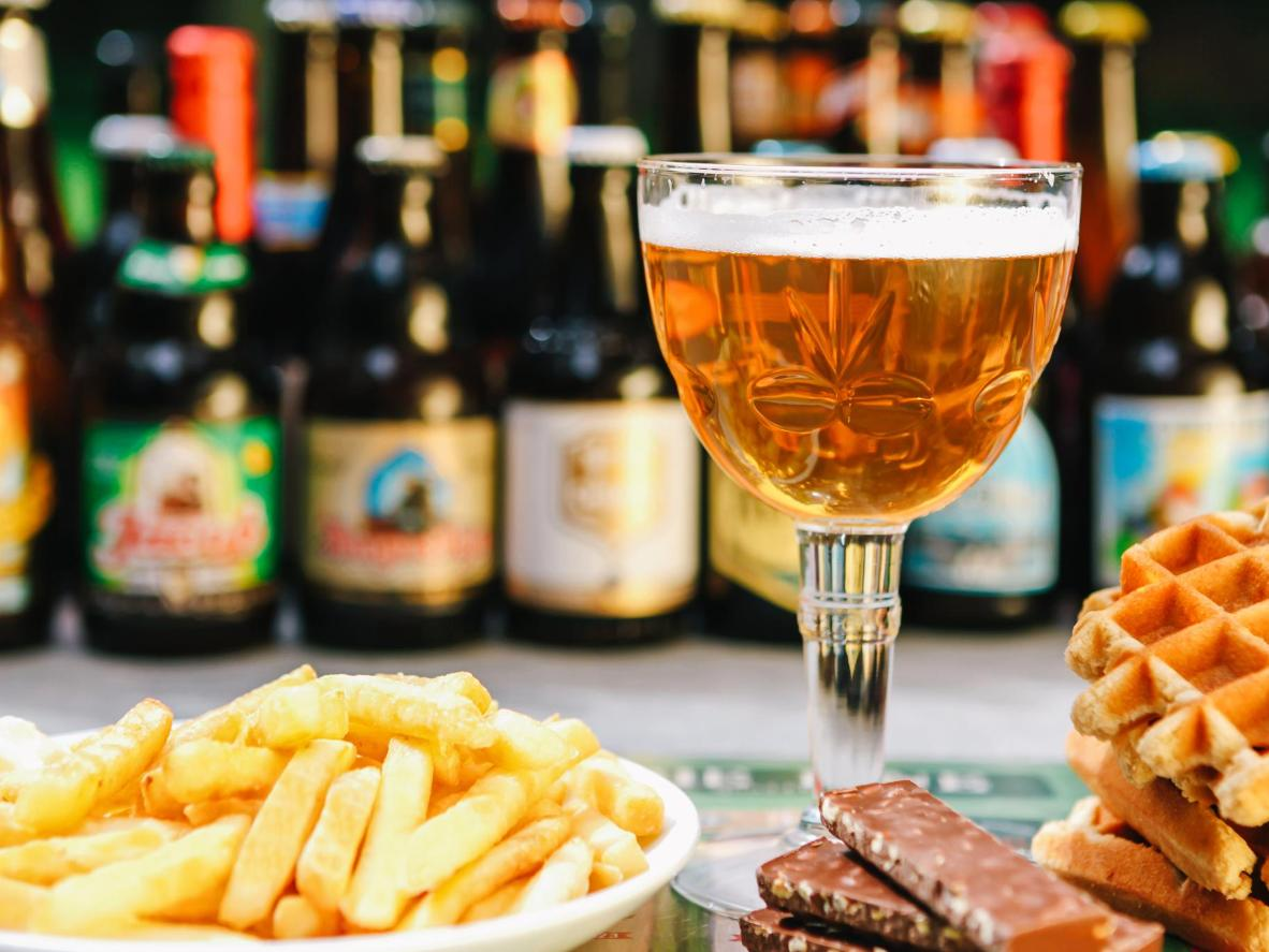 The brewing tradition in Belgium has produced some of the world's finest beers