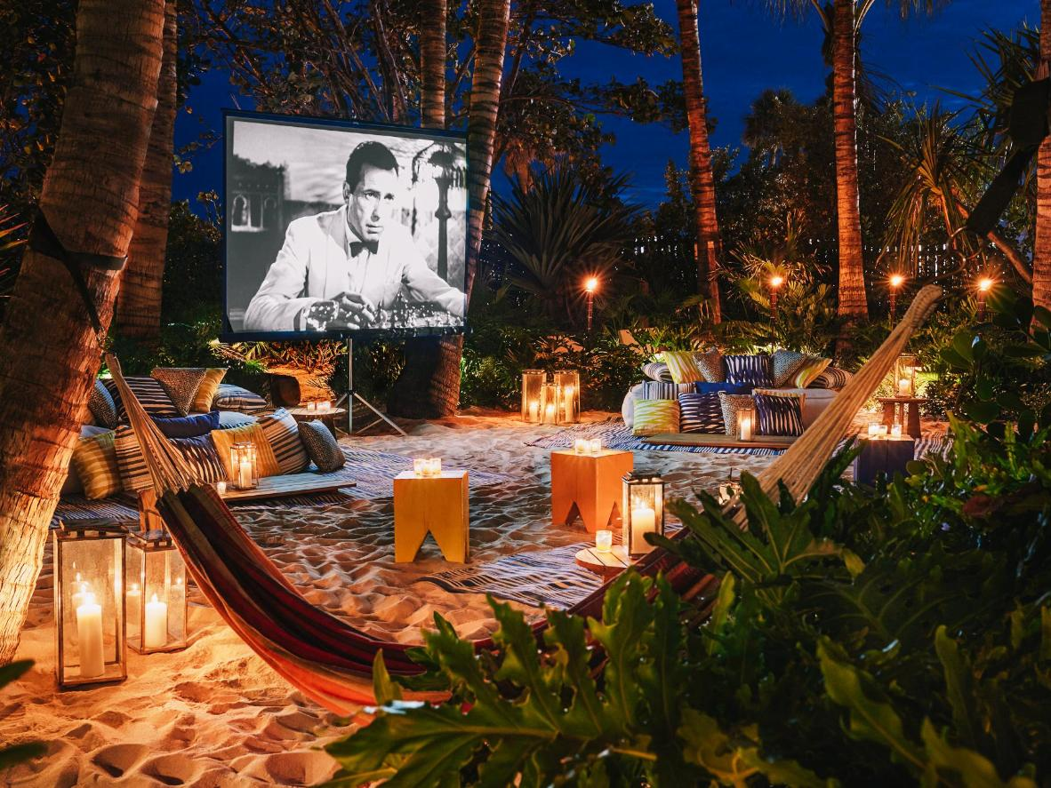 An exclusive screening under the stars in Miami