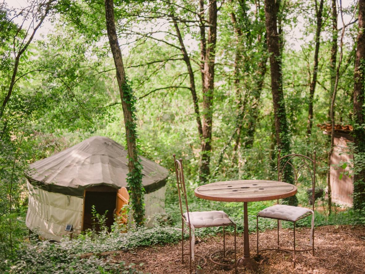 The Quirky Camping Yurts of Aquitaine