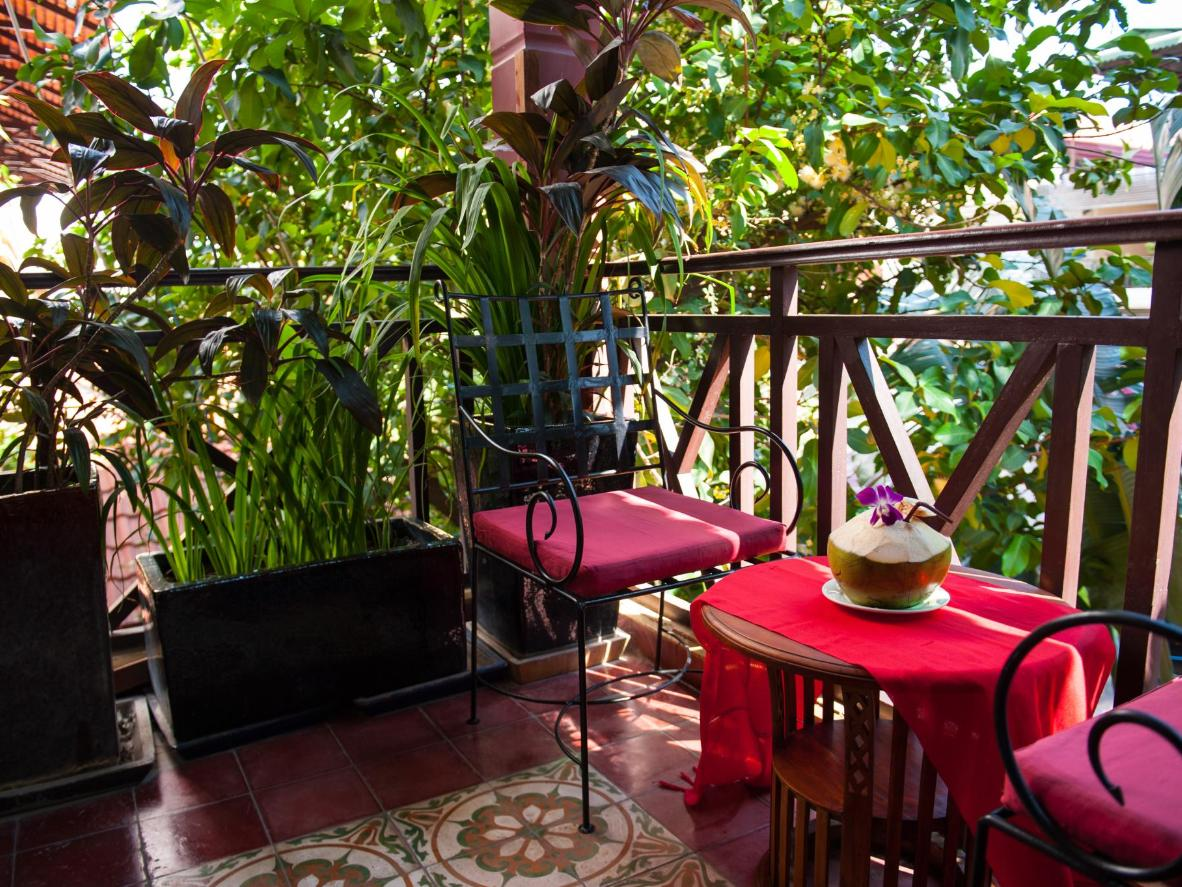 The house special at Khmer Surin Boutique Guesthouse