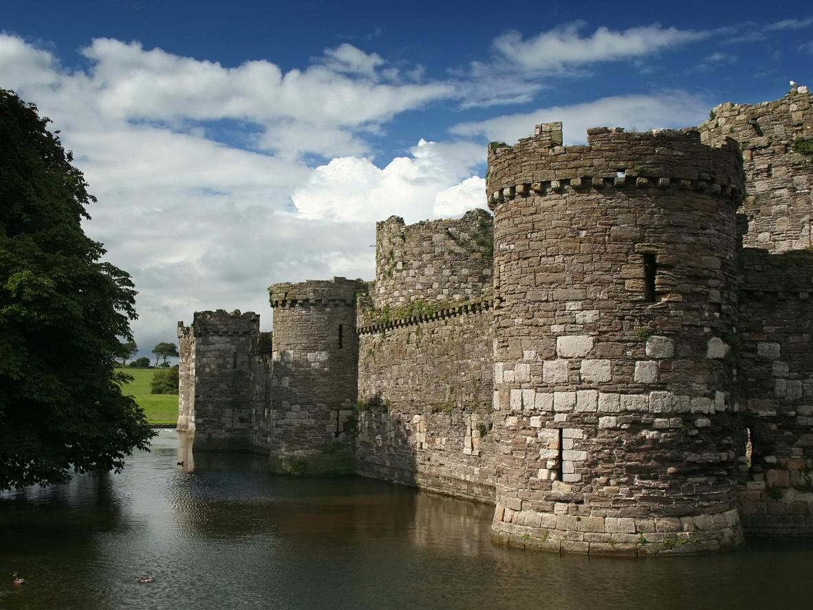 Beaumaris Castle in Anglesey