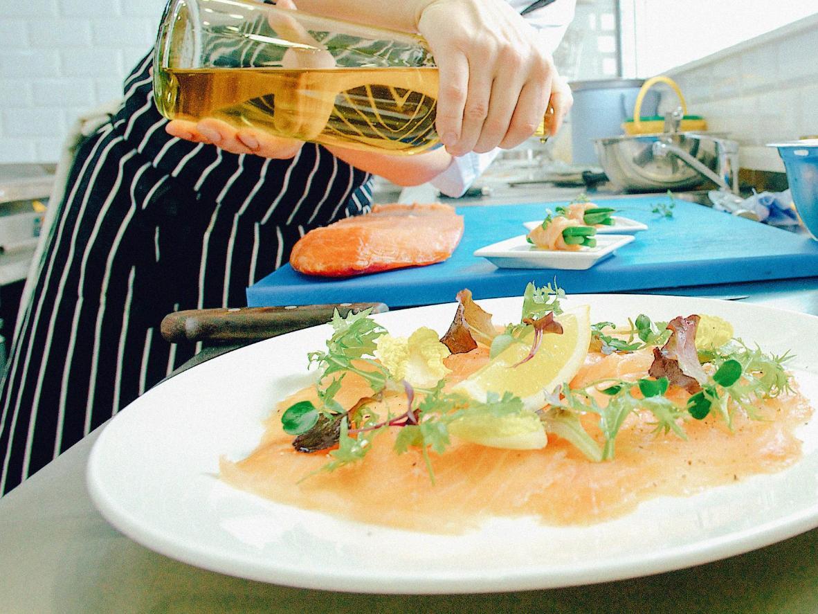 Imperdibile il carpaccio di salmone a Riccione