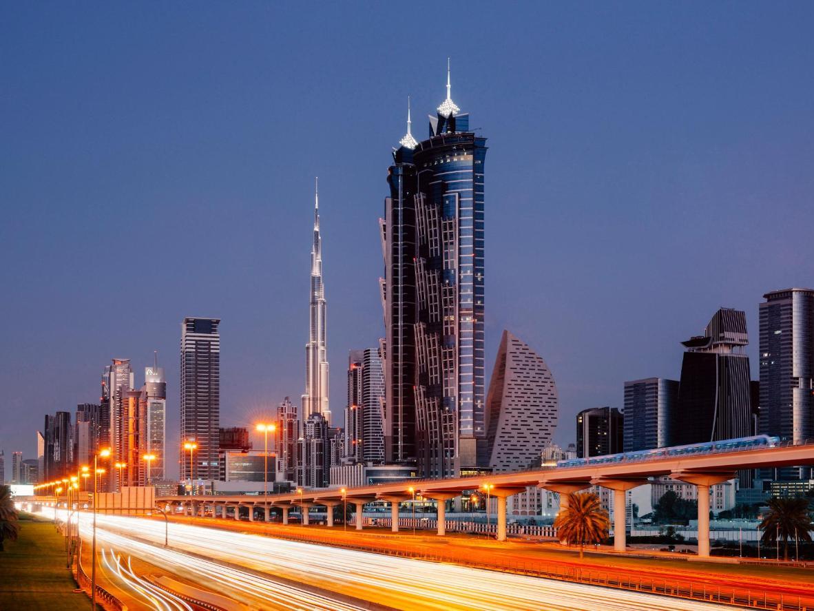 JW Marriott Marquis Hotel in Dubai, UAE