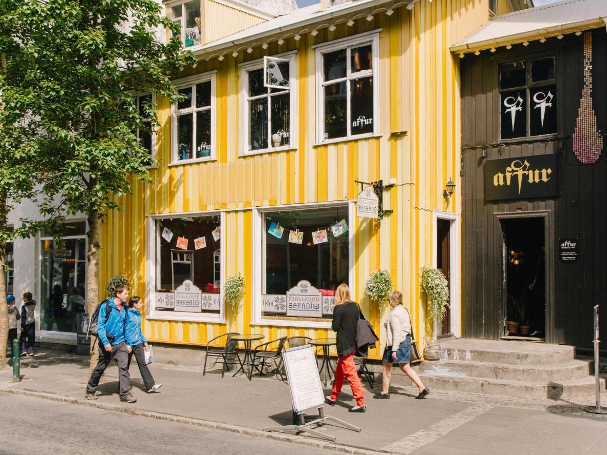 La zona di Grandi è un vero hub culturale al porto vecchio di Reykjavik