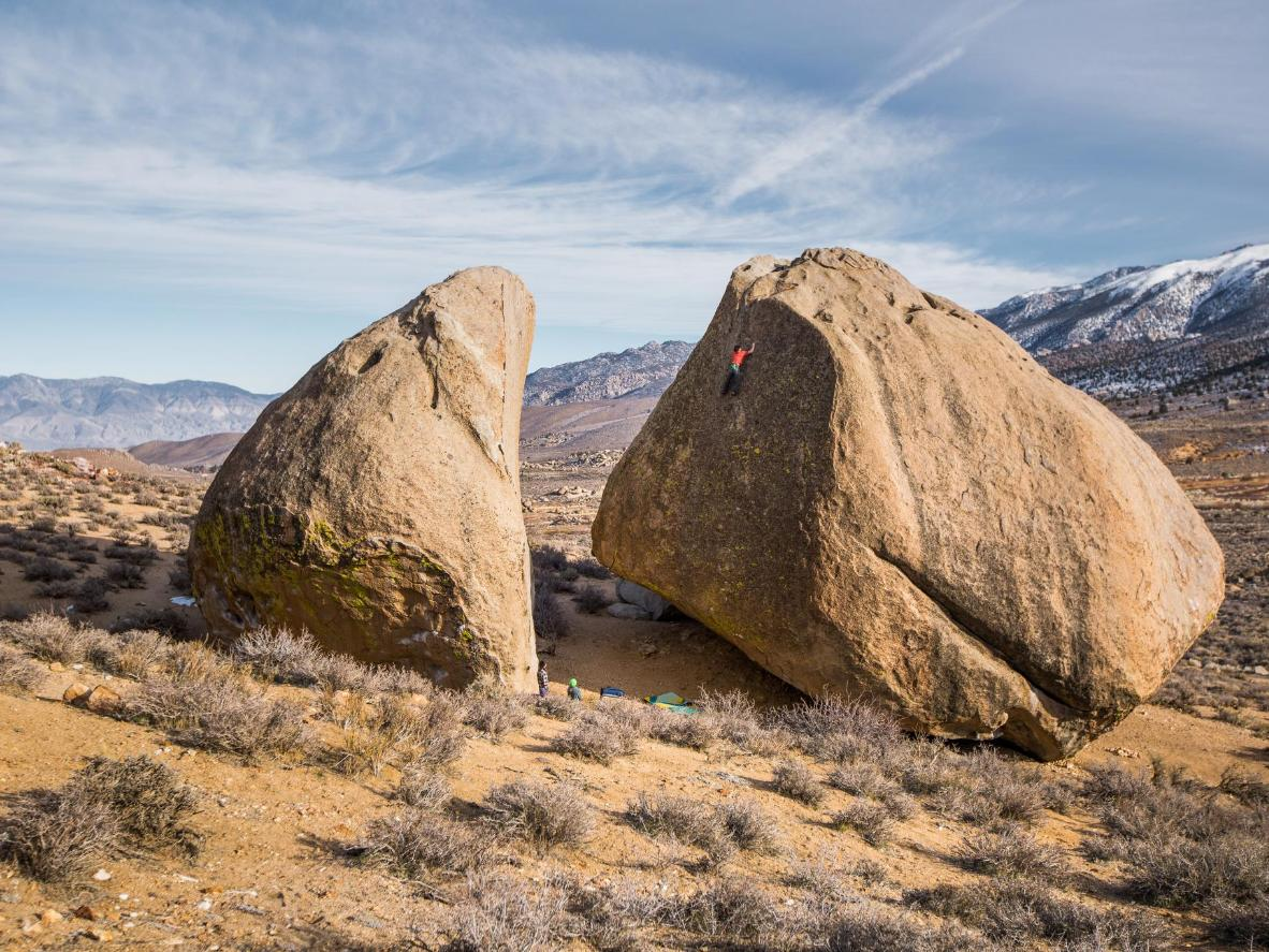 The Buttermilks, California's number one bouldering destination