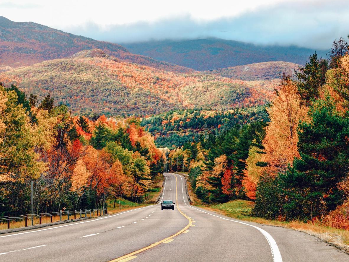 The Adirondacks region of New York