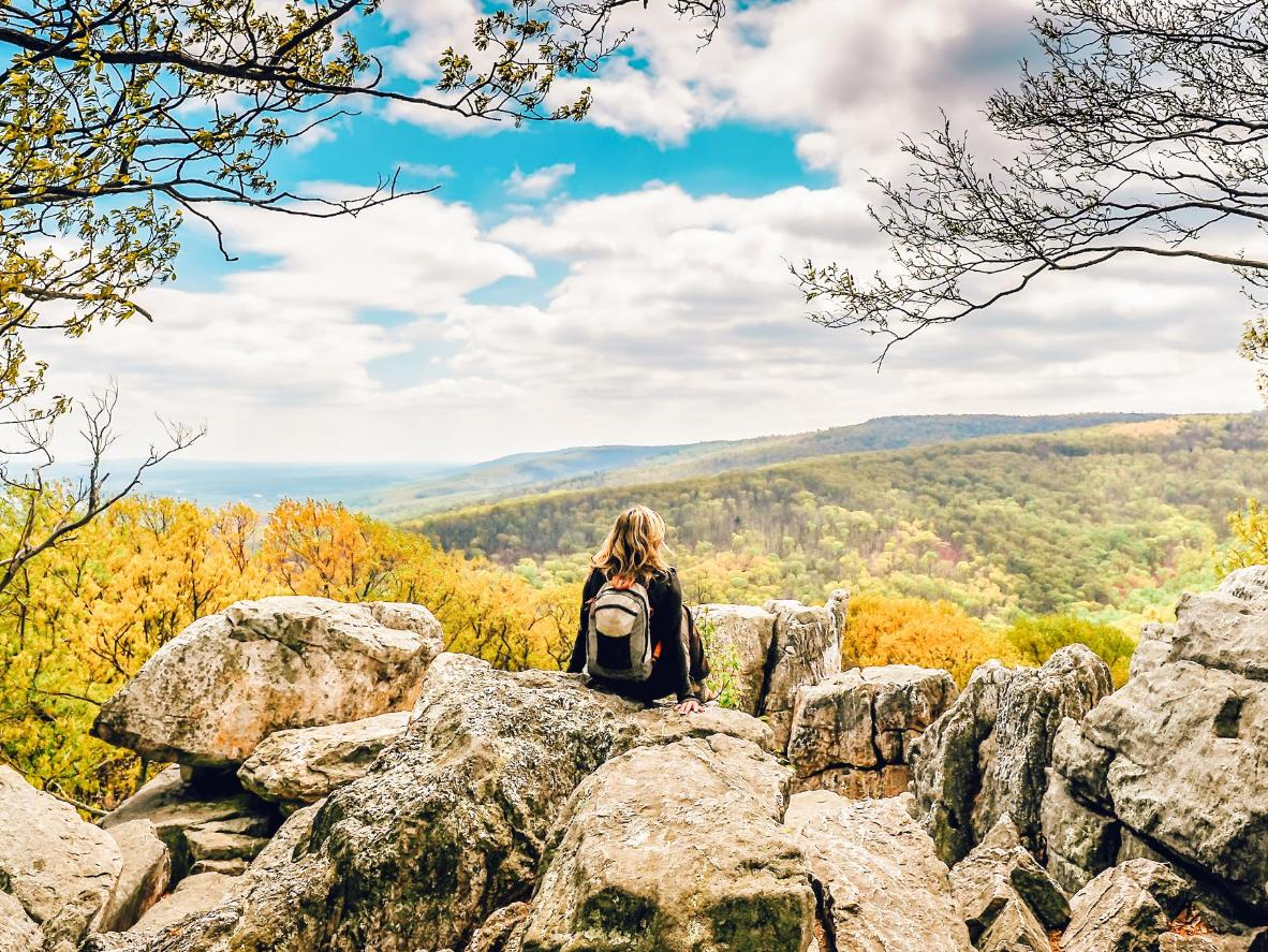 Leafy vistas at Maggie Valley, North Carolina