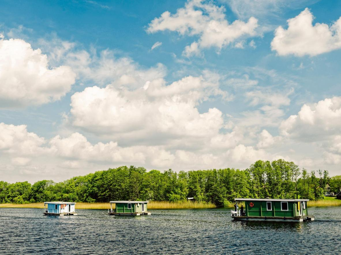 All the convenience of a traditional hotel on Germany's waterways