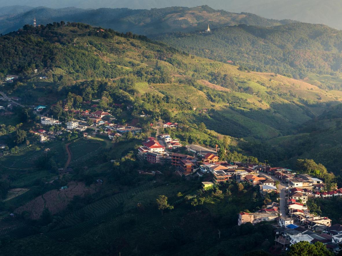 The small mountain village of Doi Mae Salong