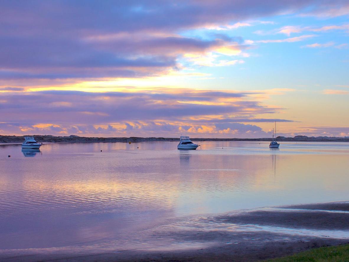 Mangawhai Estuary in the morning light