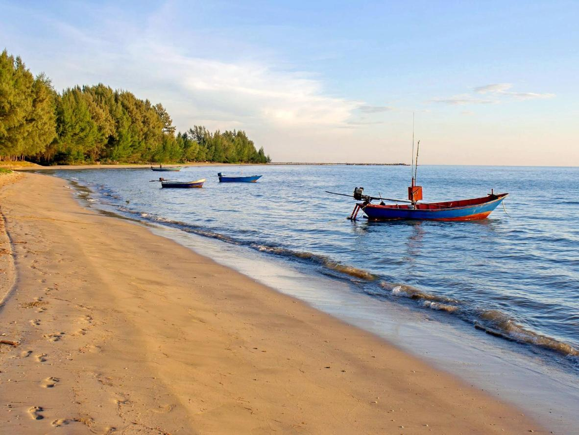 Chao Lao Beach is remote and therefore relatively undiscovered