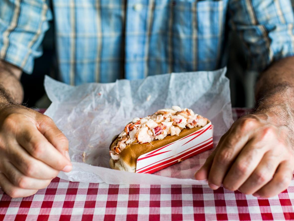 Maine's tastiest 'lobstah rolls' can be found at harbourside restaurants
