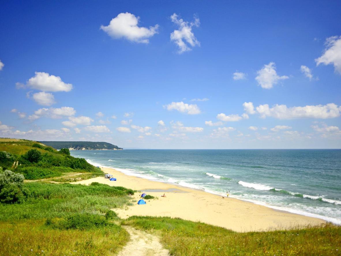 Constant sunshine and gentle waves along the Black Sea coastline