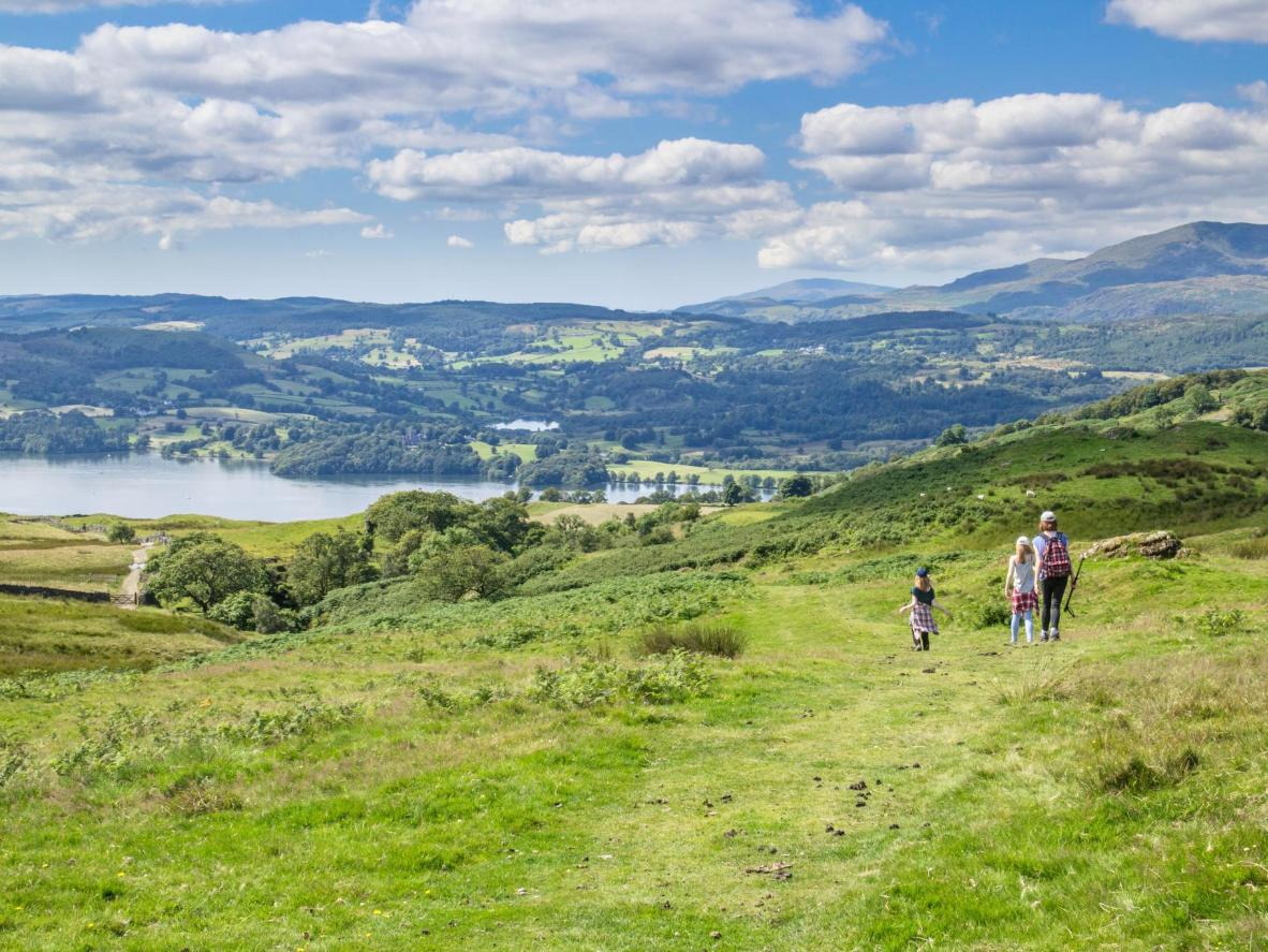 The Lake District is a natural playground