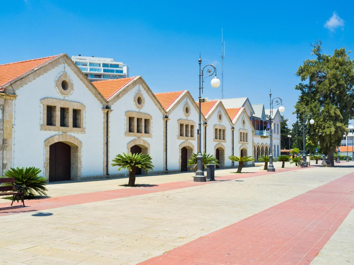Larnaca comes alive under the endless blue skies and summer sun