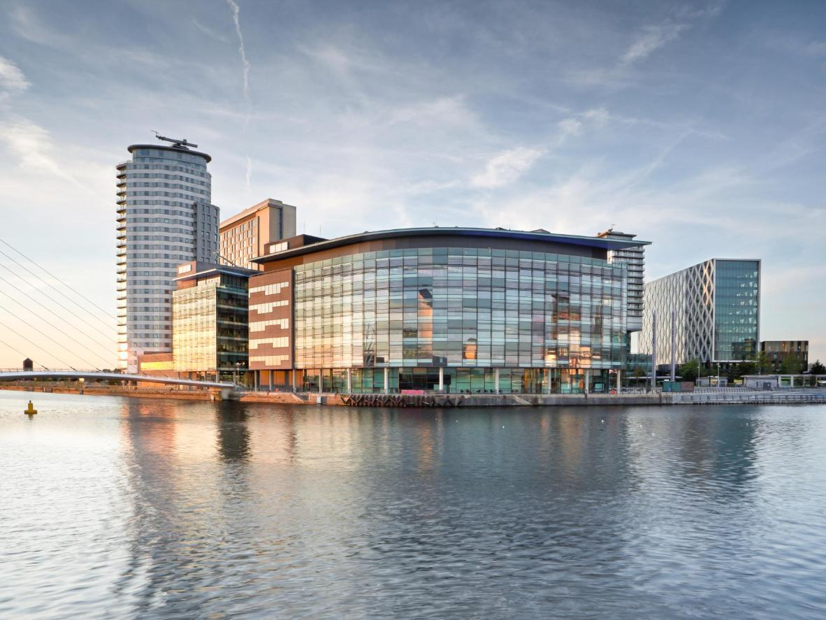 Take a tour of Manchester's MediaCityUK