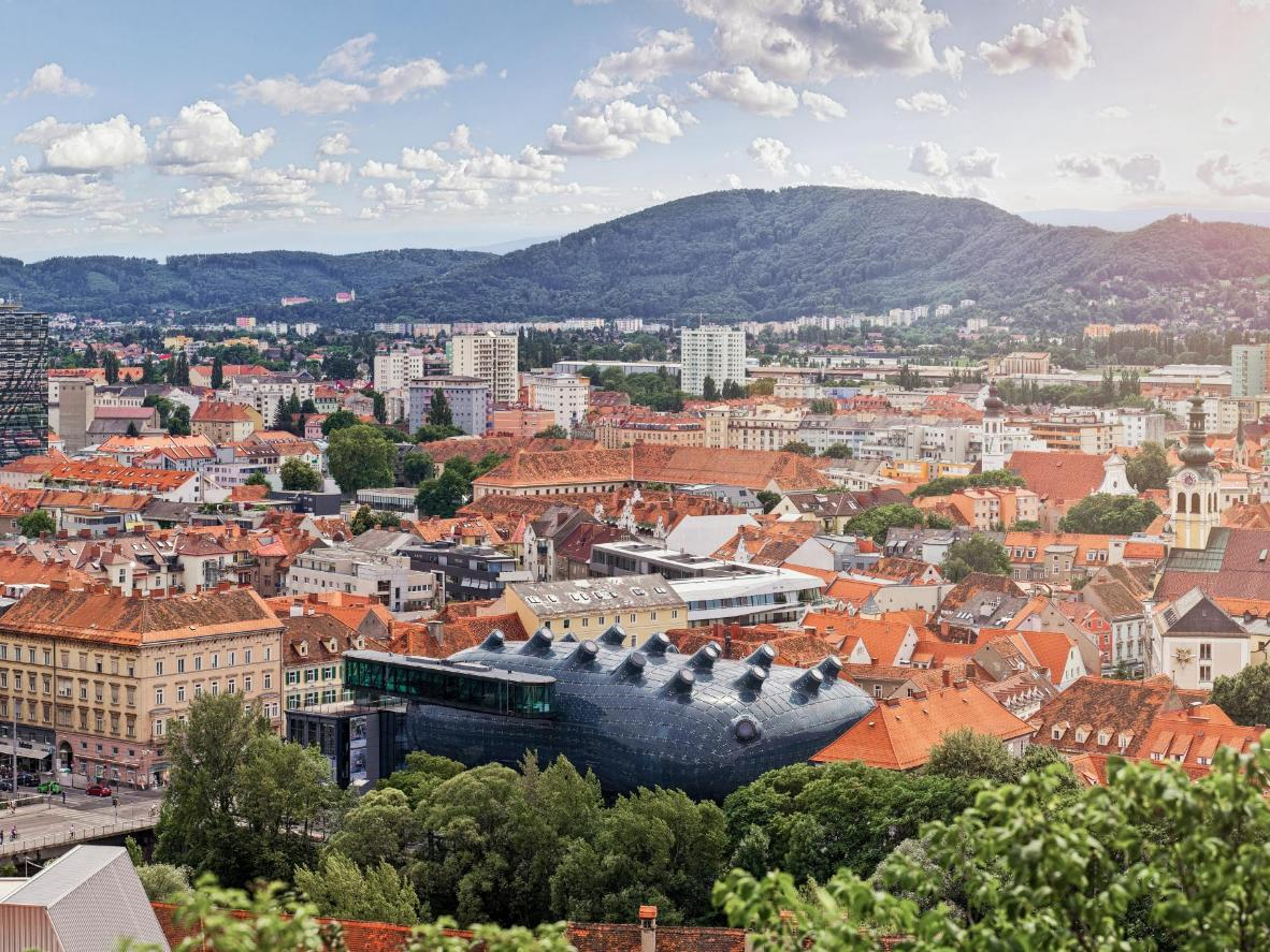 Graz in Austria is a UNESCO City of Design