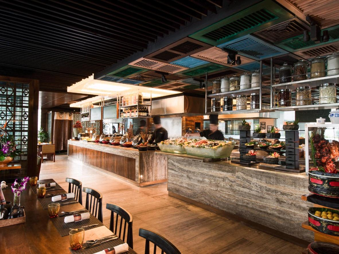 Makan Kitchen At Doubletree By Hilton Hotel In Kuala Lumpur