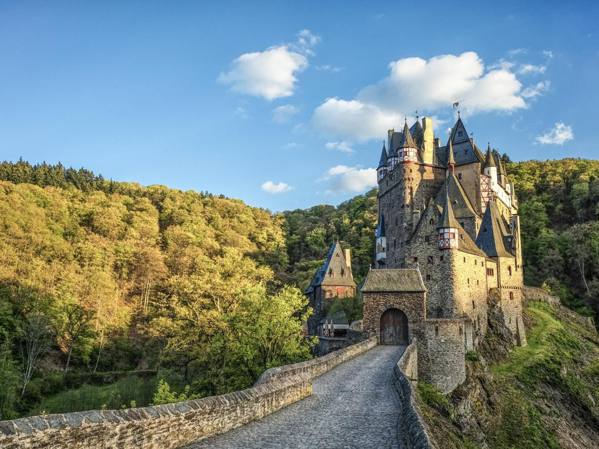 Part of Eltz Castle is still a private residence today