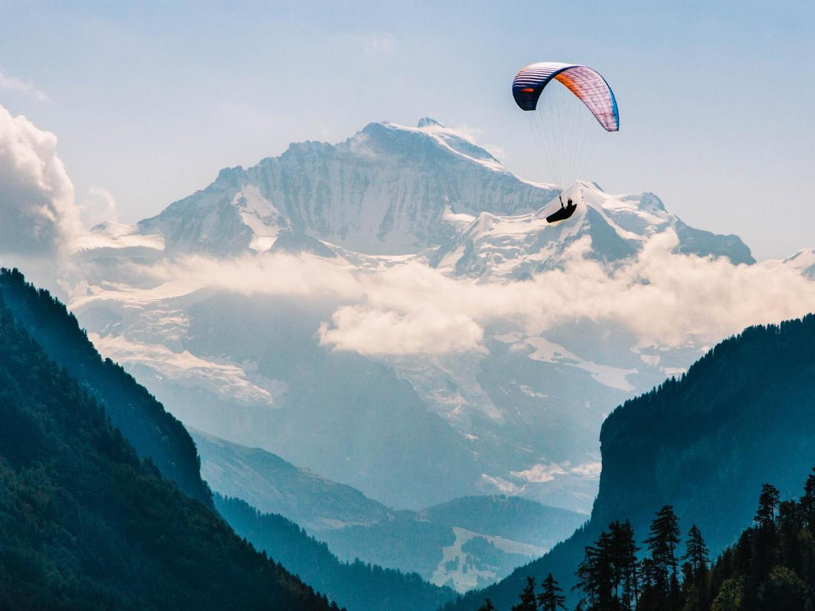 The world's most amazing paragliding destinations   Booking com