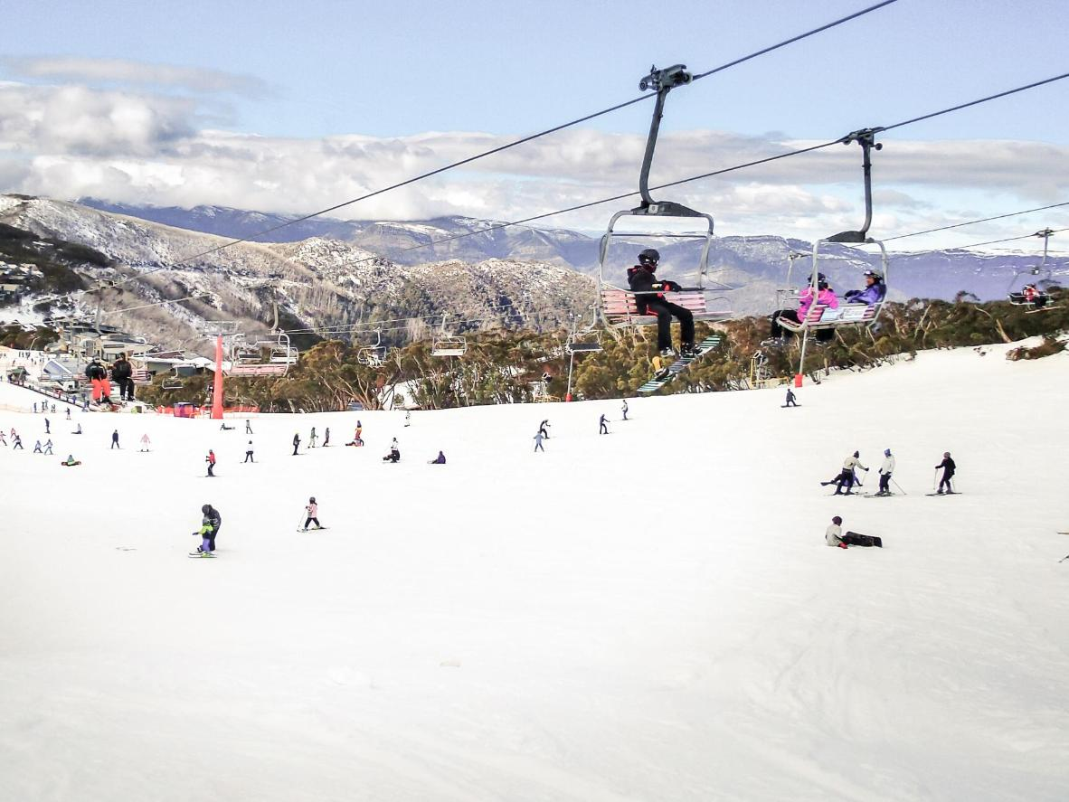 The slopes of Mount Buller