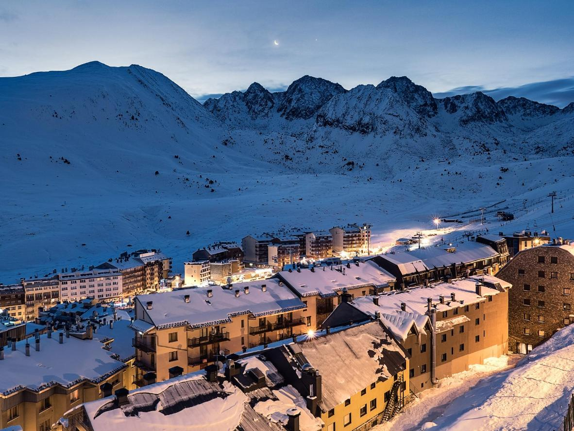 The resort's après-ski scene takes centre stage after the last lift of the day