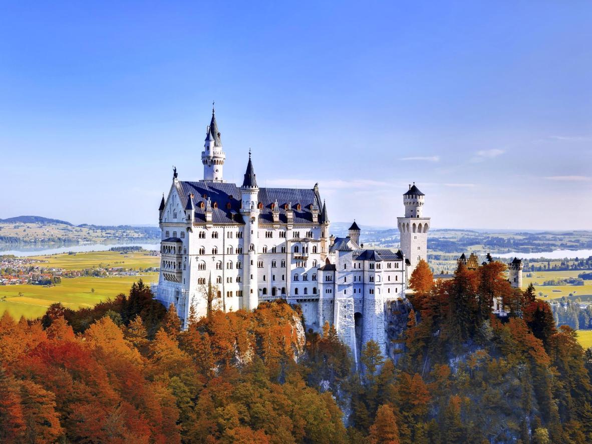 Neuschwanstein Castle was the inspiration for Disney's Magic Kingdom theme park