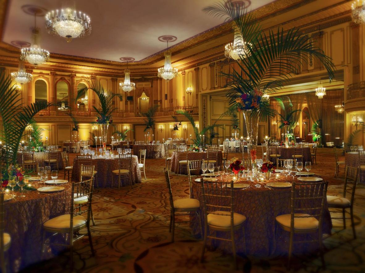 The Palmer House Hilton in Chicago