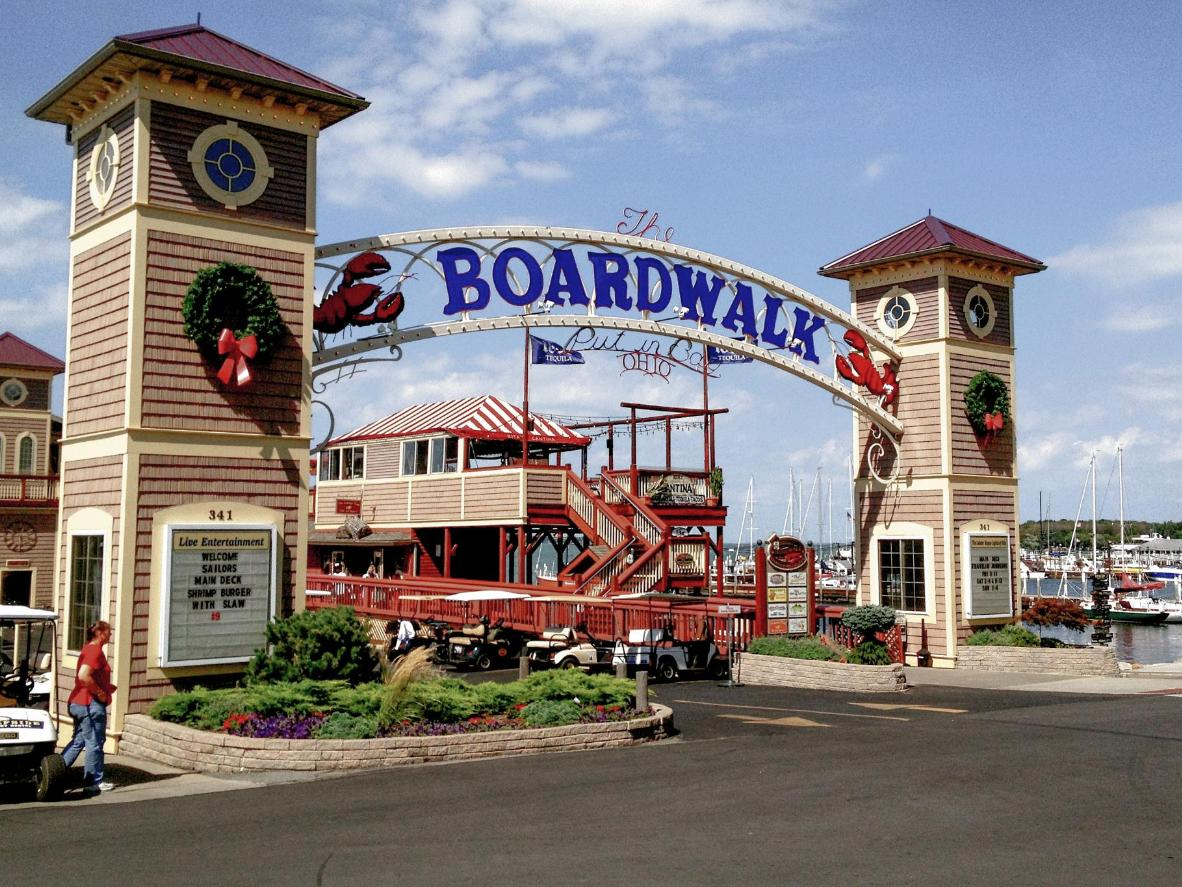 Explore the Put-in-Bay Boardwalk
