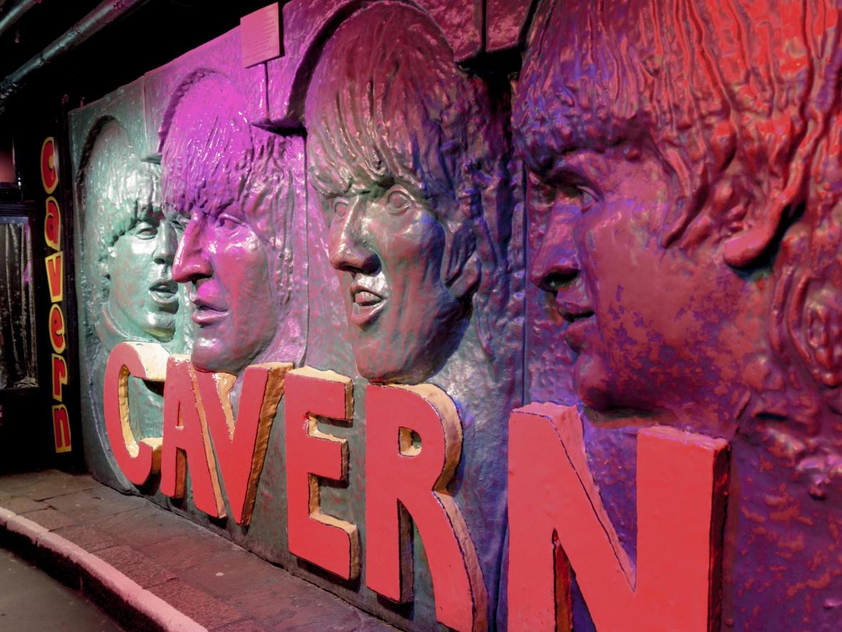 The Beatles famously played their first gig at The Cavern Club