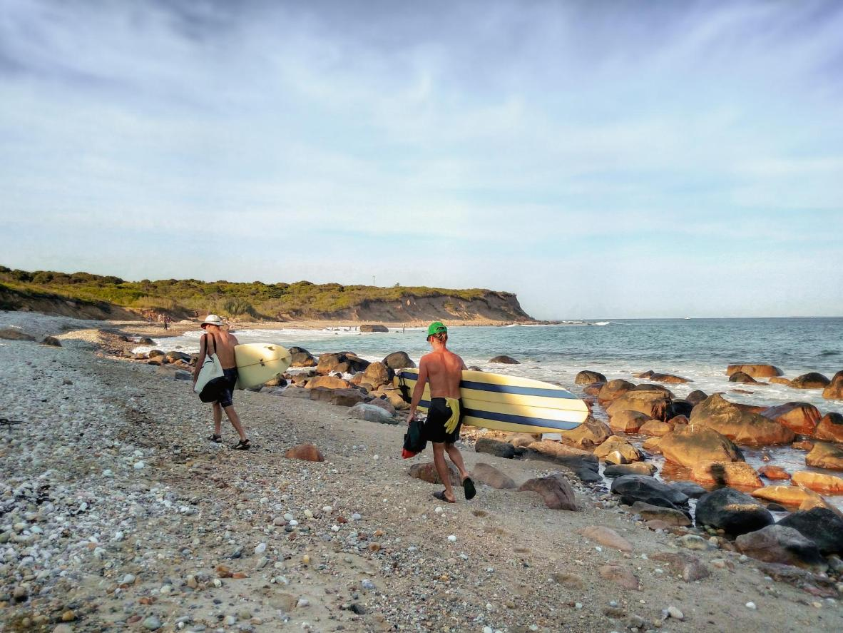 Montauk is known for its outstanding surfing conditions