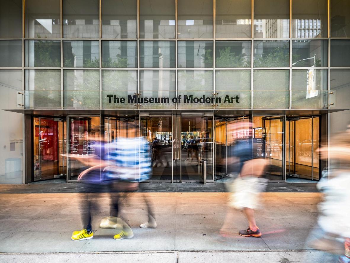 El MoMA tiene horarios especiales para programas en familia, que incluyen actividades gratis para explicar las obras a los niños