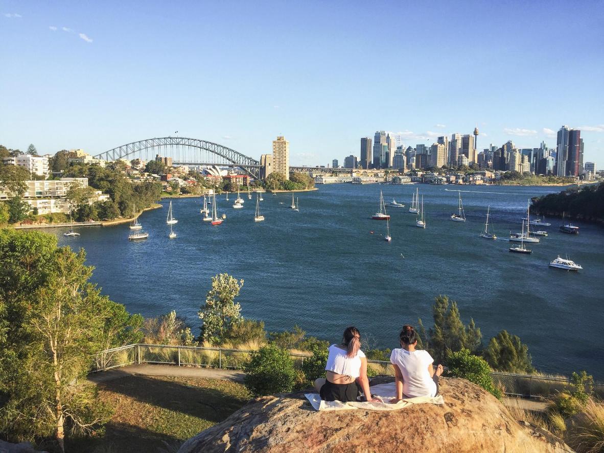 Balls Head Reserve, overlooking Sydney Harbour